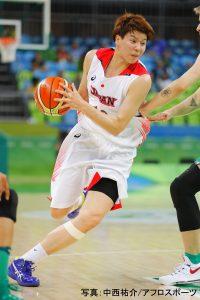 #10渡嘉敷 来夢選手はチームトップの23得点、9リバウンド