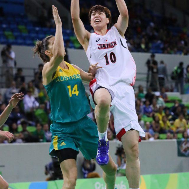 チームトップの23得点を挙げた#10渡嘉敷 来夢選手