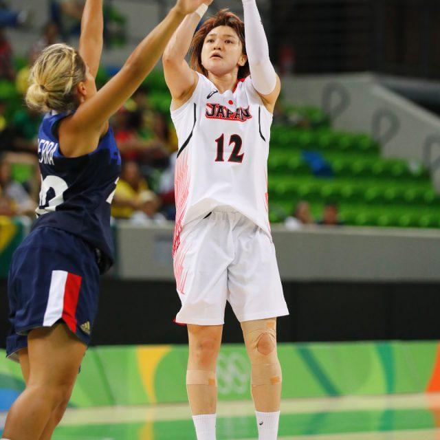 #12吉田 亜沙美選手はチーム最多の24得点、7アシスト