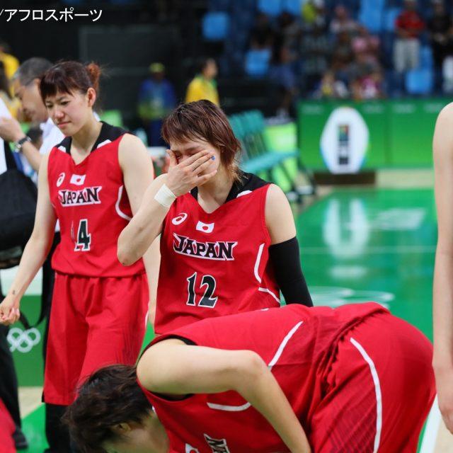前半はアメリカに接戦を繰り広げた「アカツキファイブ」女子日本代表チームだが、後半一気に突き放され、64-110で敗戦