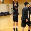 齋藤 拓実選手(明治大学 2年)のシュート