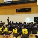 世界一を目指すため、世界一ハードワークしているNBAチームの練習映像を見ながらミーティング