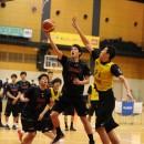ゴールへアタックする木林 毅選手(筑波大学 3年)