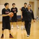 日本代表候補に初選出された篠山 竜青選手(東芝ブレイブサンダース神奈川)