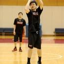 田口 成浩選手(秋田ノーザンハピネッツ)は昨年に続き合宿参加