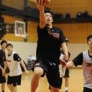 赤土 裕典選手(日本体育大学 3年)のドライブ