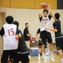 笹山 陸選手(洛南高校 1年)の3Pシュート