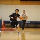 ボールを運ぶ杉本 天昇選手(土浦日本大学高校 3年)