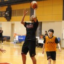 初招集された181cmの石川 愛選手(埼玉栄高校 2年)