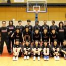平成28年度バスケットボール女子U-17日本代表チーム 日本代表候補選手 集合写真