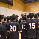 女子日本代表チームのトム・ホーバスヘッドコーチも激励に