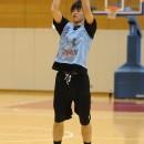 合宿直前の試合で33点を挙げた西川 貴之選手(レバンガ北海道)