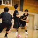 西川 貴之選手(レバンガ北海道)は視野を広く、スペースを確認