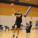 内田 雅樂選手(ドミニカン大学カリフォルニア校 1年)