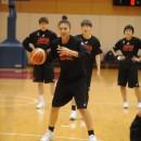 練習の中で成長が見られた梅沢 カディシャ樹奈選手(JX-ENEOSサンフラワーズ)