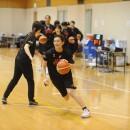 スピードをアピールする水島 沙紀選手(トヨタ自動車 アンテロープス)