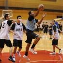 ジュニアユースアカデミーと男子U-16日本代表候補の両方に選ばれ、技術を磨く江原 信太朗選手(実践学園中学校 3年)