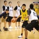 男子U-16日本代表入りを目指すジュニアユースアカデミーとの合同練習