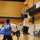 山崎 凜選手(土浦日本大学高校 1年)のジャンプシュート
