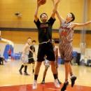 結城 智史選手(土浦日本大学高校 1年)のパワーレイアップ