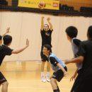 西田 公陽選手(福岡大学附属大濠高校 1年)の3Pシュート