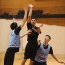 アグレッシブなオフェンス力でチームを引っ張る田中 力選手(横須賀市立坂本中学校 3年)