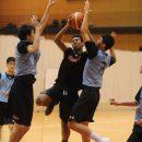 フィジカル強くゴールを狙う横地 聖真選手(福岡大学附属大濠高校 1年)