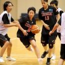 森 美月選手(松山市立勝山中学校 3年)