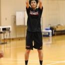 #11 宮下 希保選手(県立足羽高校 3年)のジャンプシュート