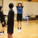 #13 髙原 春季選手(大阪薫英女学院高校 3年)の3Pシュート