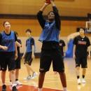 キャプテンを任された#12 馬瓜 ステファニー選手(桜花学園高校 3年)