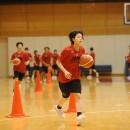 キャプテンに指名された山本 麻衣選手(桜花学園高校 3年)