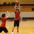 橋口 樹選手(東筑紫学園高校 3年)のジャンプシュート