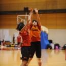伊森 可琳選手(桜花学園高校 2年)のジャンプシュート