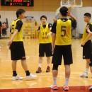 ポイントガードの中田 嵩基選手(福岡大学附属大濠高校 1年)を中心にプレイを確認