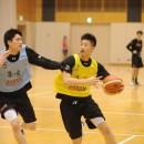 福島でプロとして活躍しただけあり、良いパフォーマンスを見せる水野 幹太選手(県立福島南高校 3年)