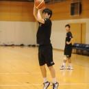 三上 侑希選手(中央大学 1年)の3Pシュート