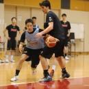 スピードを生かして大きな相手を抜く重冨 友希選手(専修大学 1年)