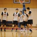 練習ゲームに臨む男子U19日本代表チーム