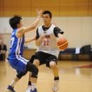 再招集され、ポイントガードとしてアピールする赤穂 雷太選手(青山学院大学 1年)