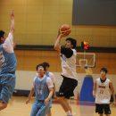 シュートを狙う西田 優大選手(東海大学 1年)