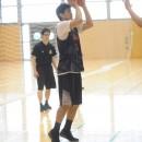 杉浦 佑成選手(サンロッカーズ渋谷/筑波大学 3年)の3Pシュート
