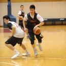 ドライブに行く中村 太地選手(シーホース三河/法政大学 1年)