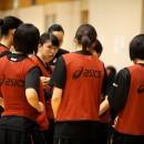 林 咲希選手(白鴎大学 4年)ら4年生がリーダーシップを発揮