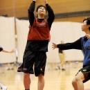 藤本 愛妃選手(東京医療保健大学 1年)のインサイドプレイ