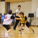 田村 未来選手(早稲田大学 4年)のレッグスルー