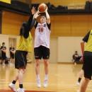 佐坂 樹選手(白?大学 1年)のジャンプシュート
