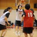 アイメレク モニィーク選手(愛知学泉大学 2年)の3Pシュート