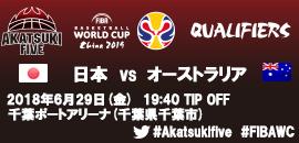 02.FIBAワールドカップ2019アジア1次予選